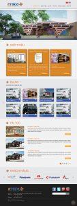 thiết kế website etsco