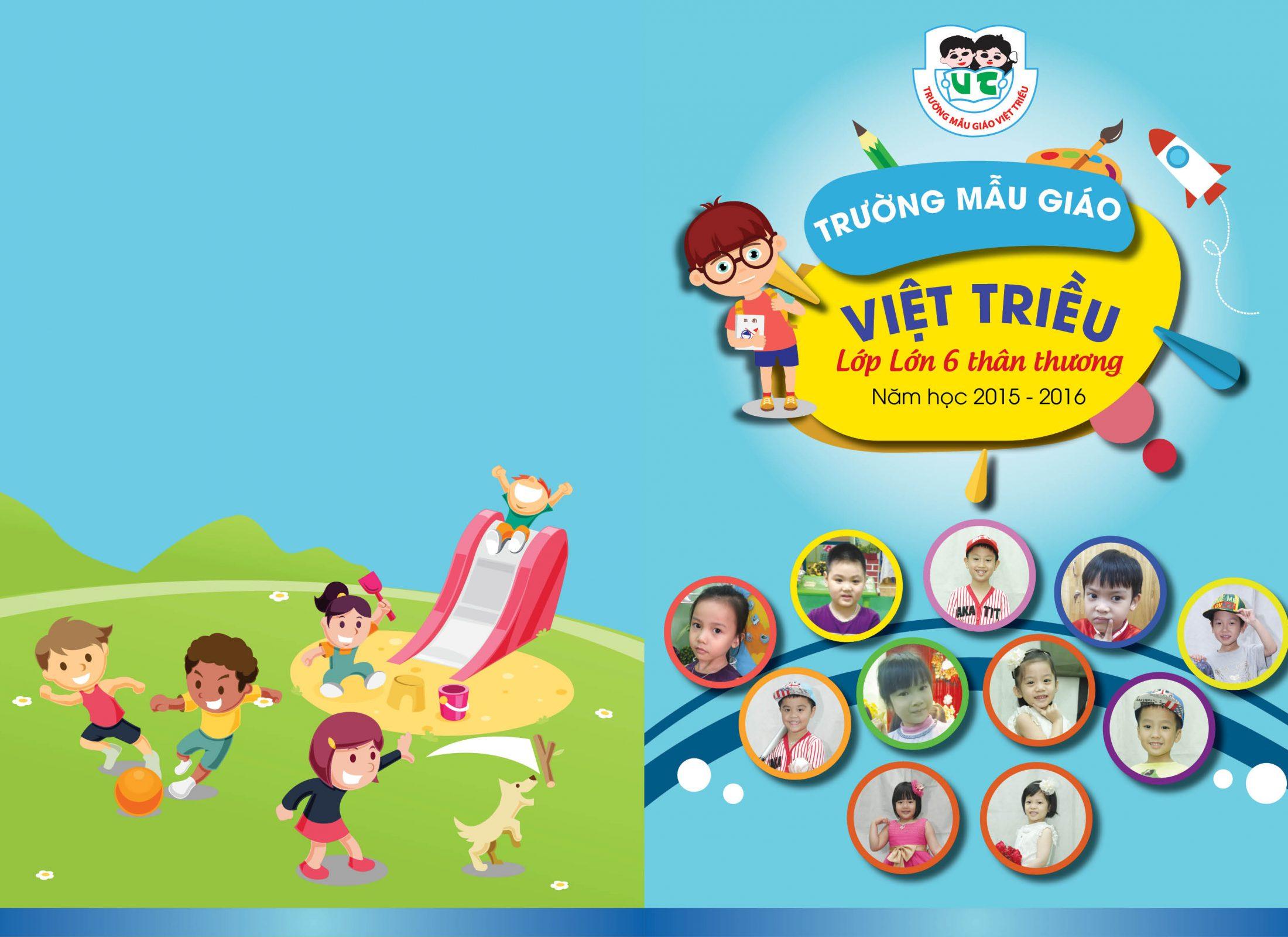 Kỷ yếu ảnh mẫu giáo Việt Triều